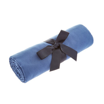 Solid colour microfibre bath towel