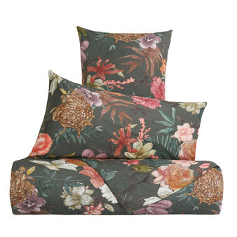 Floral pattern duvet cover in 100% cotton