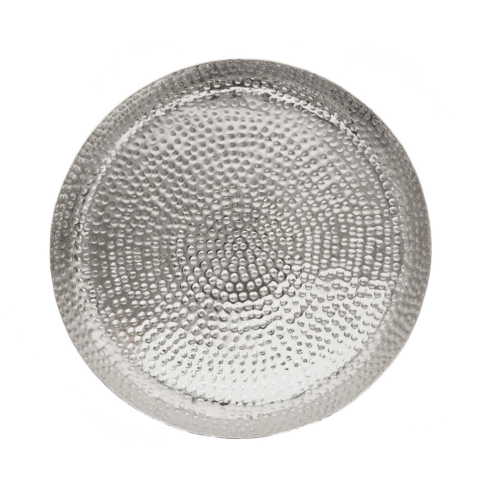 Textured aluminium tray