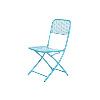 Folding steel chair.