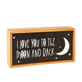 Light box I Love You To The Moon And Back