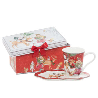 Mug new bone china motivo bambina