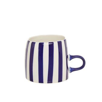 Mug stoneware a righe