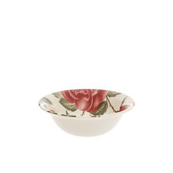 Small ceramic bowl with floral decoration