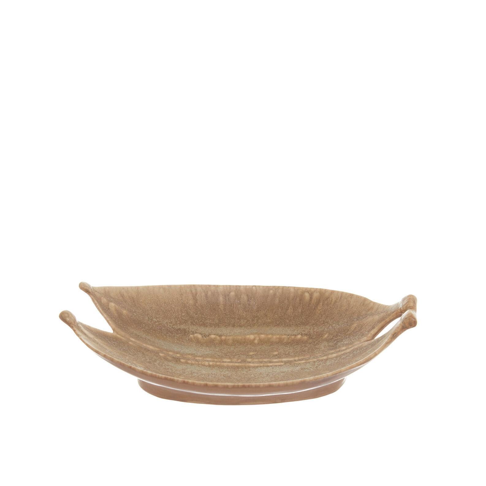 Handmade decorative ceramic tray