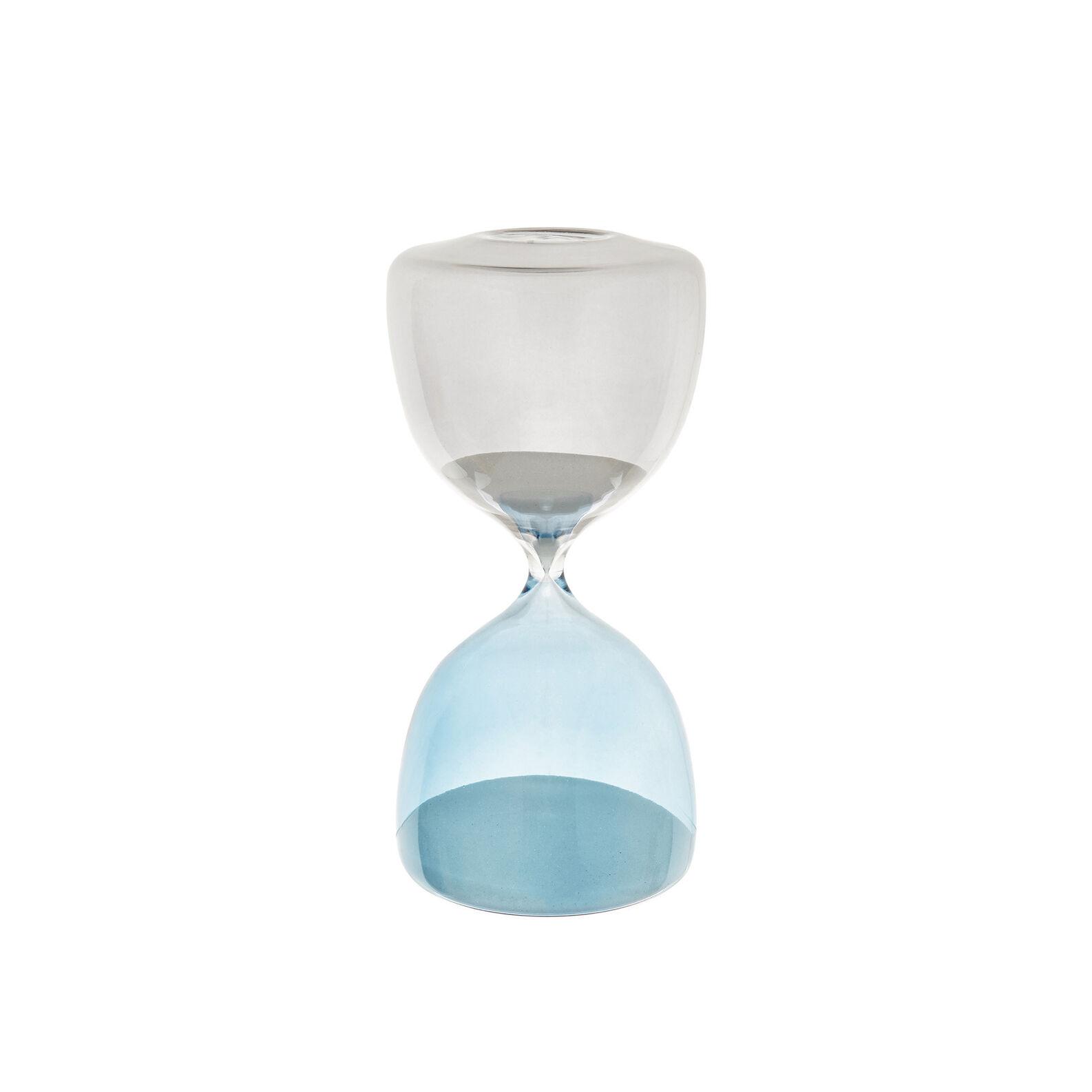 Coloured glass jewellery hourglass