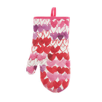 100% cotton kitchen mitt with Sandra Jacobs print