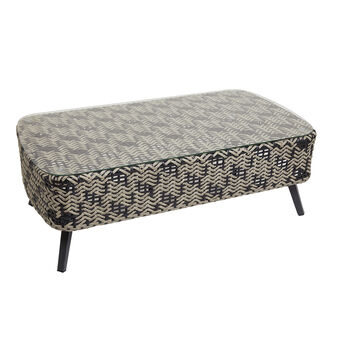 Marrakesh coffee table in polyrattan and aluminium