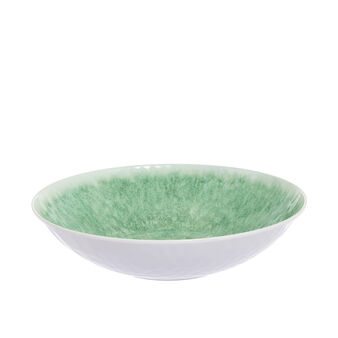 Solid colour melamine salad bowl
