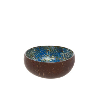 Small two-tone coconut bowl
