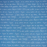 Fleece throw with poetry pattern