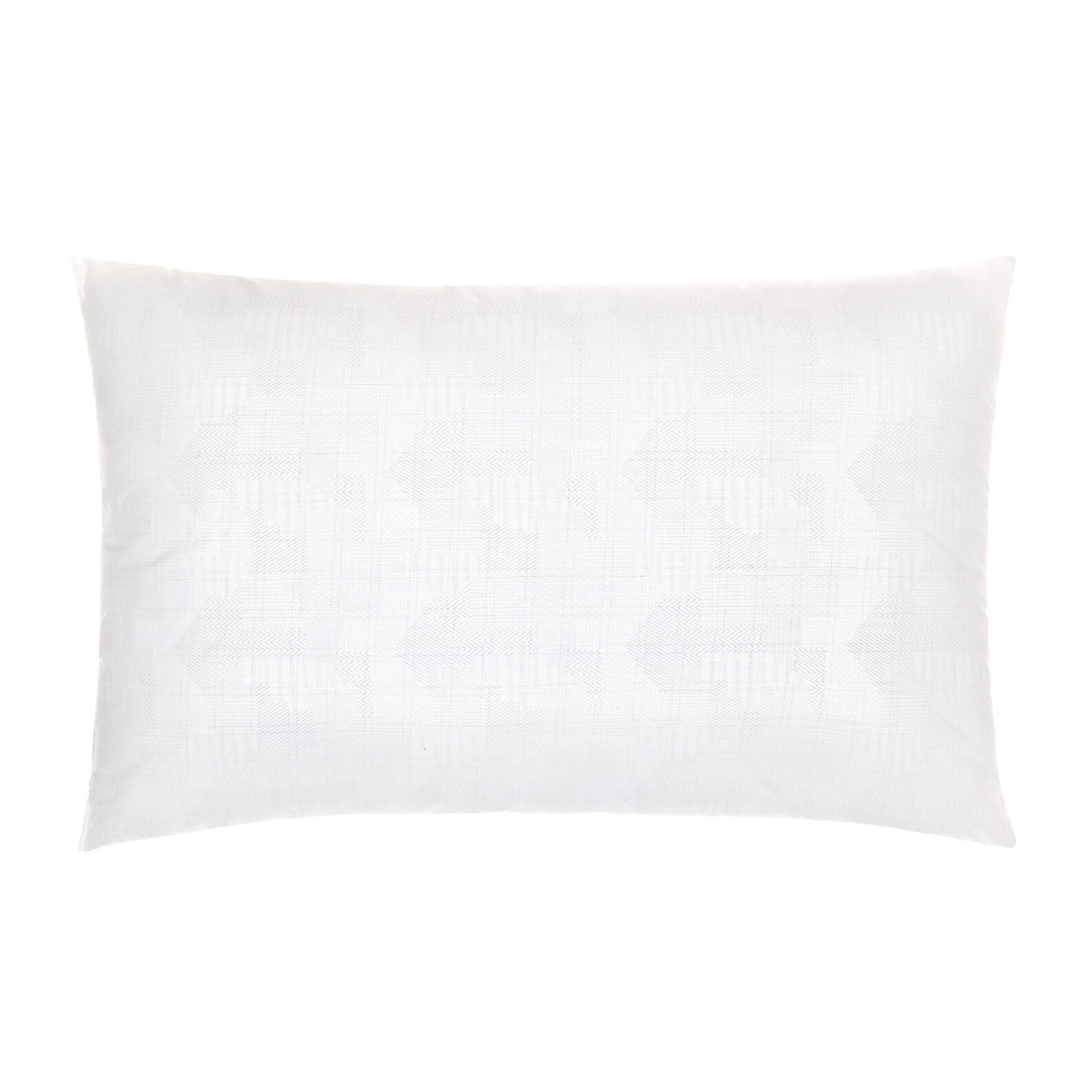 Pair of pillows in 100% cotton