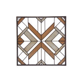Decorative metal plate