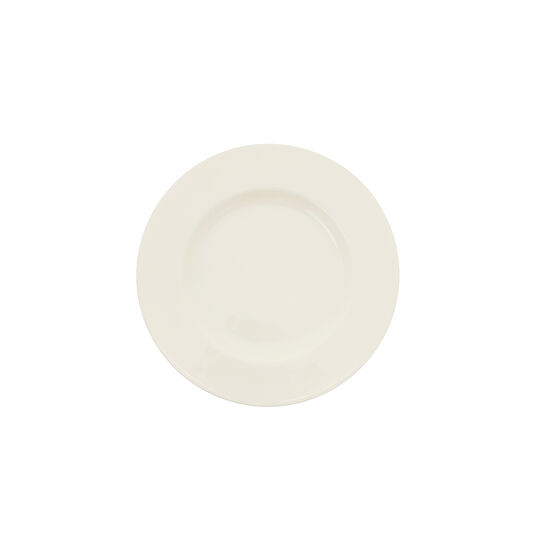 Roma side plate in new bone china.