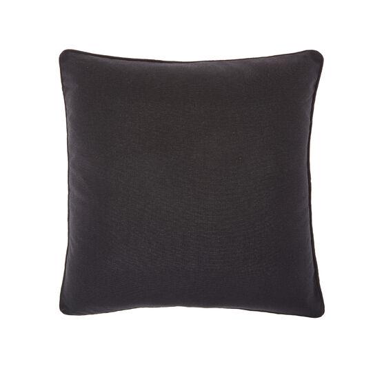 Cotton cushion with Paris print 45x45cm