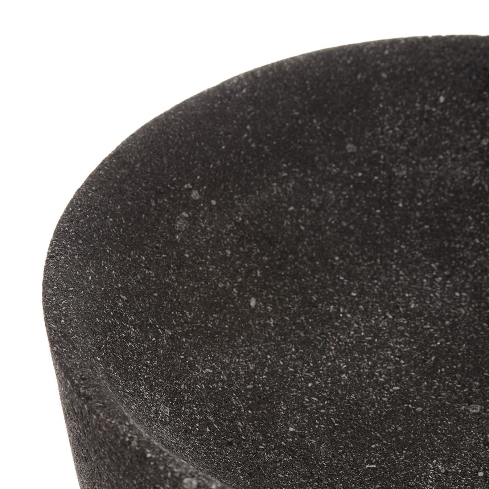 Vaso pietra lavica fatto a mano