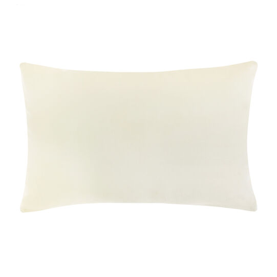 Cuscino puro cotone stampa righe colorate