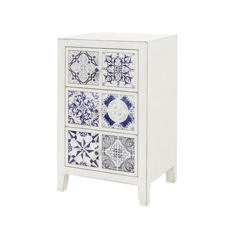 Azulejo cabinet with tile motif
