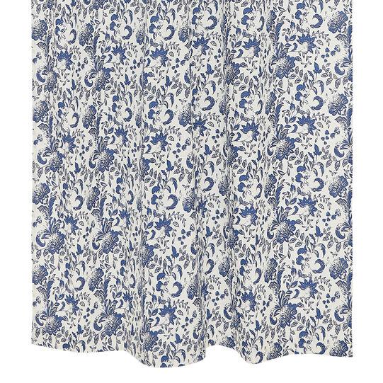 Tenda puro cotone stampa floreale