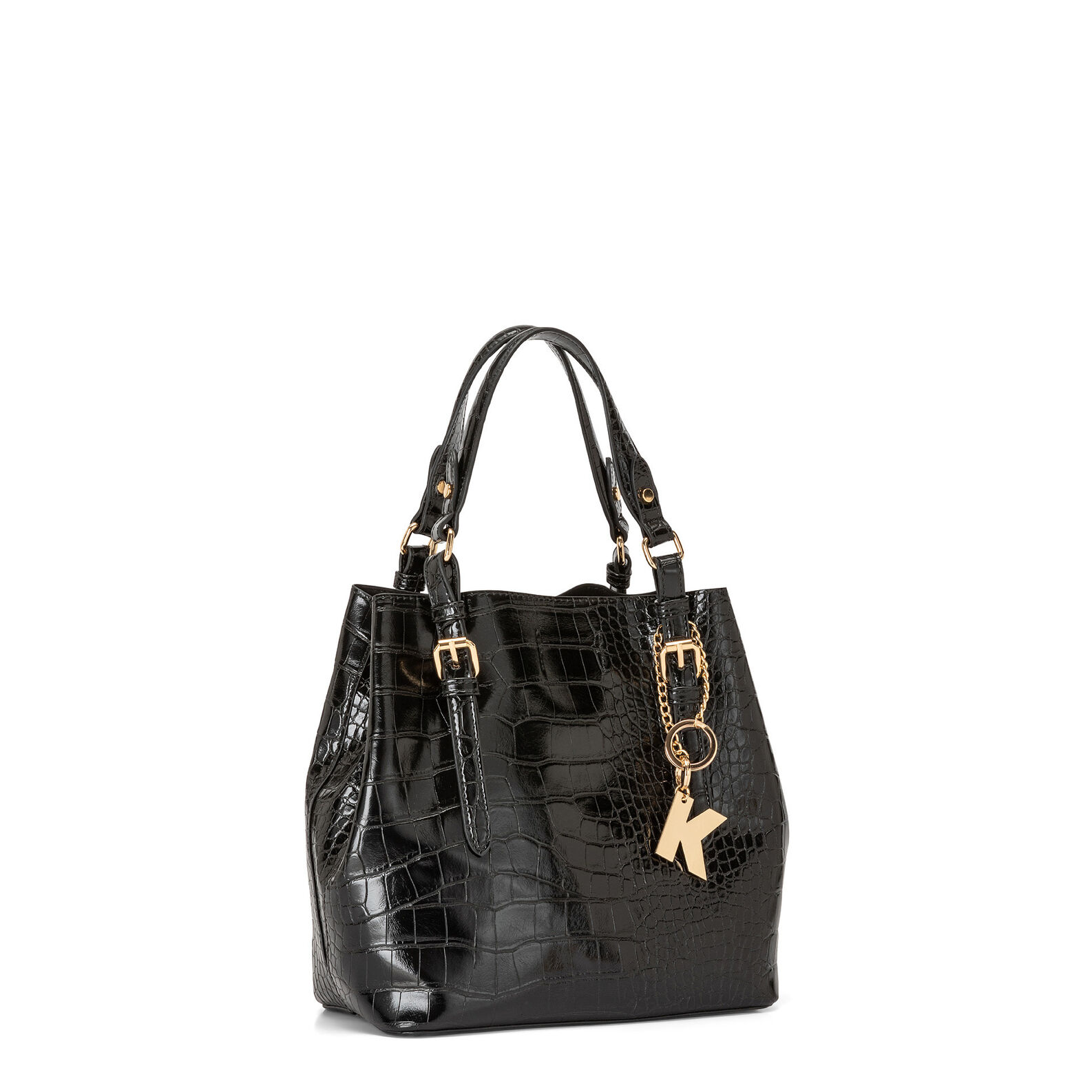 Koan croc print handbag