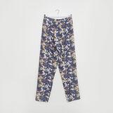 Pantalone in viscosa stampa floreale
