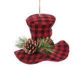 Decorative check hat