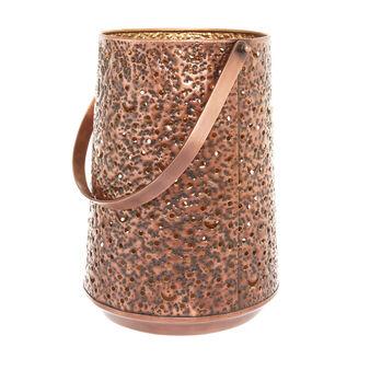 Handmade metal lantern