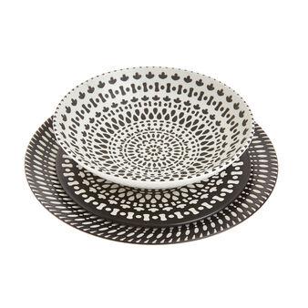 Porcelain tableware range with Morocco decoration