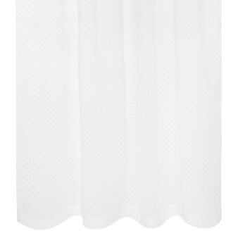 100% cotton curtain with brodierie anglaise