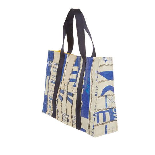 Shopper in materiale riciclato