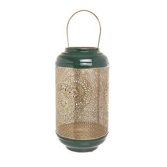 Metal handmade openwork lantern