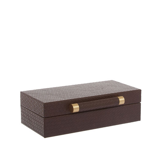 Jewellery box in faux leather