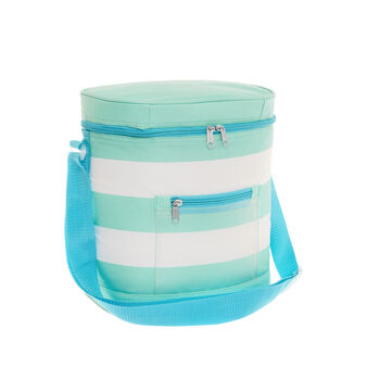 12L striped cooler bag