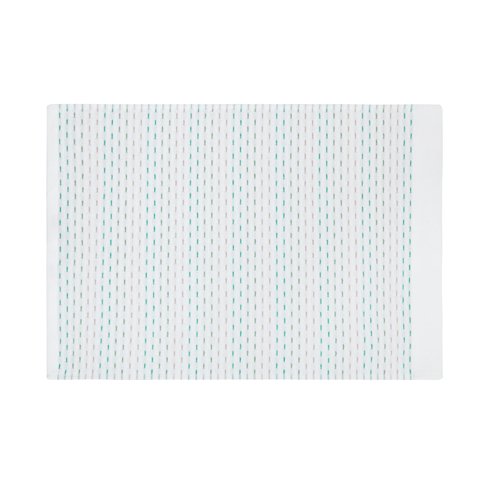 Woven cotton terry towel