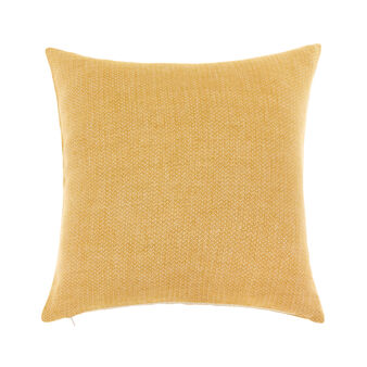 Herringbone linen jacquard cushion