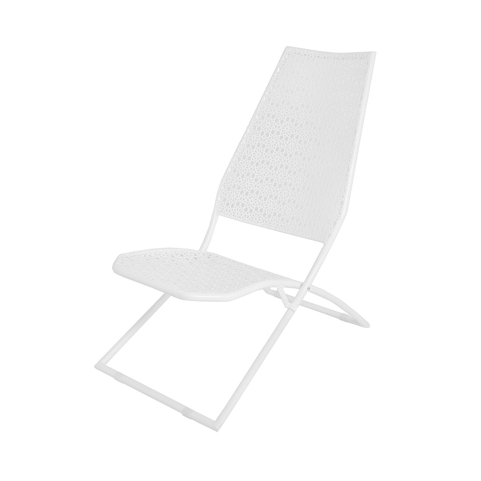 Bianca beach chair in steel