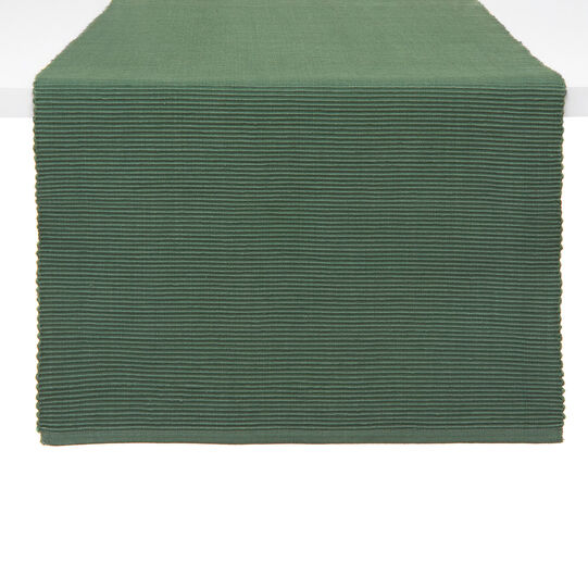 Solid colour 100% cotton table runner