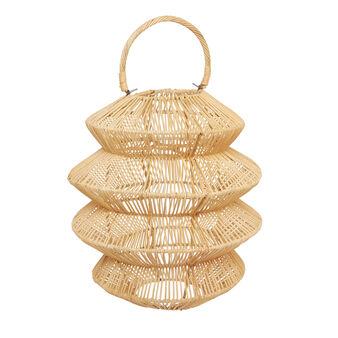 Lanterna bamboo intrecciato a mano