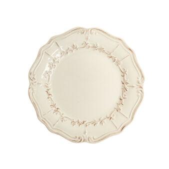 Piatto piano in ceramica decorata Genny