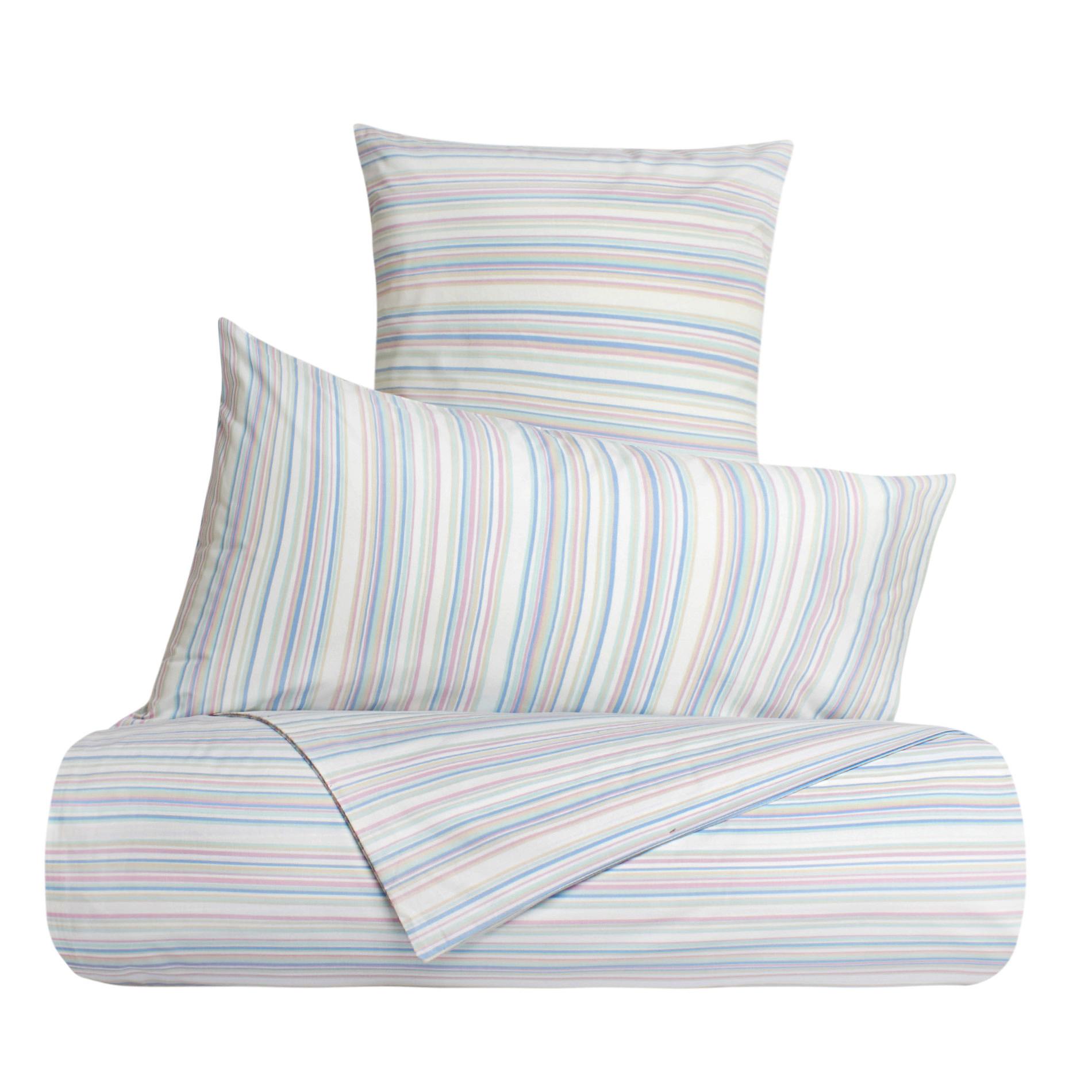 Linea letto puro cotone percalle a righe coincasa - Tende coin casa ...