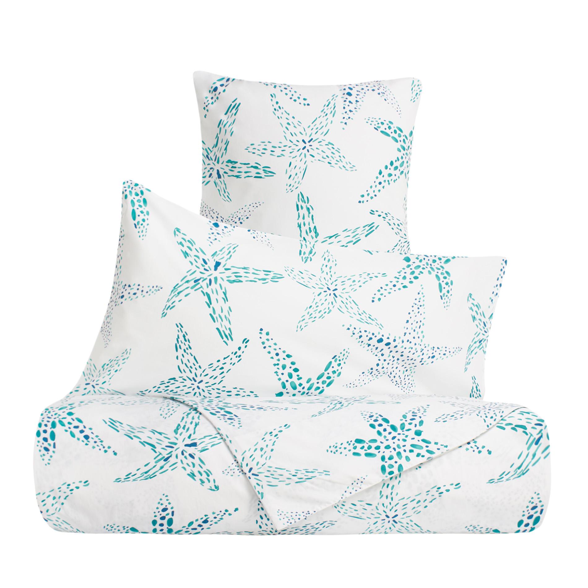 Linea letto in cotone percalle stelle marine coincasa - Tende coin casa ...