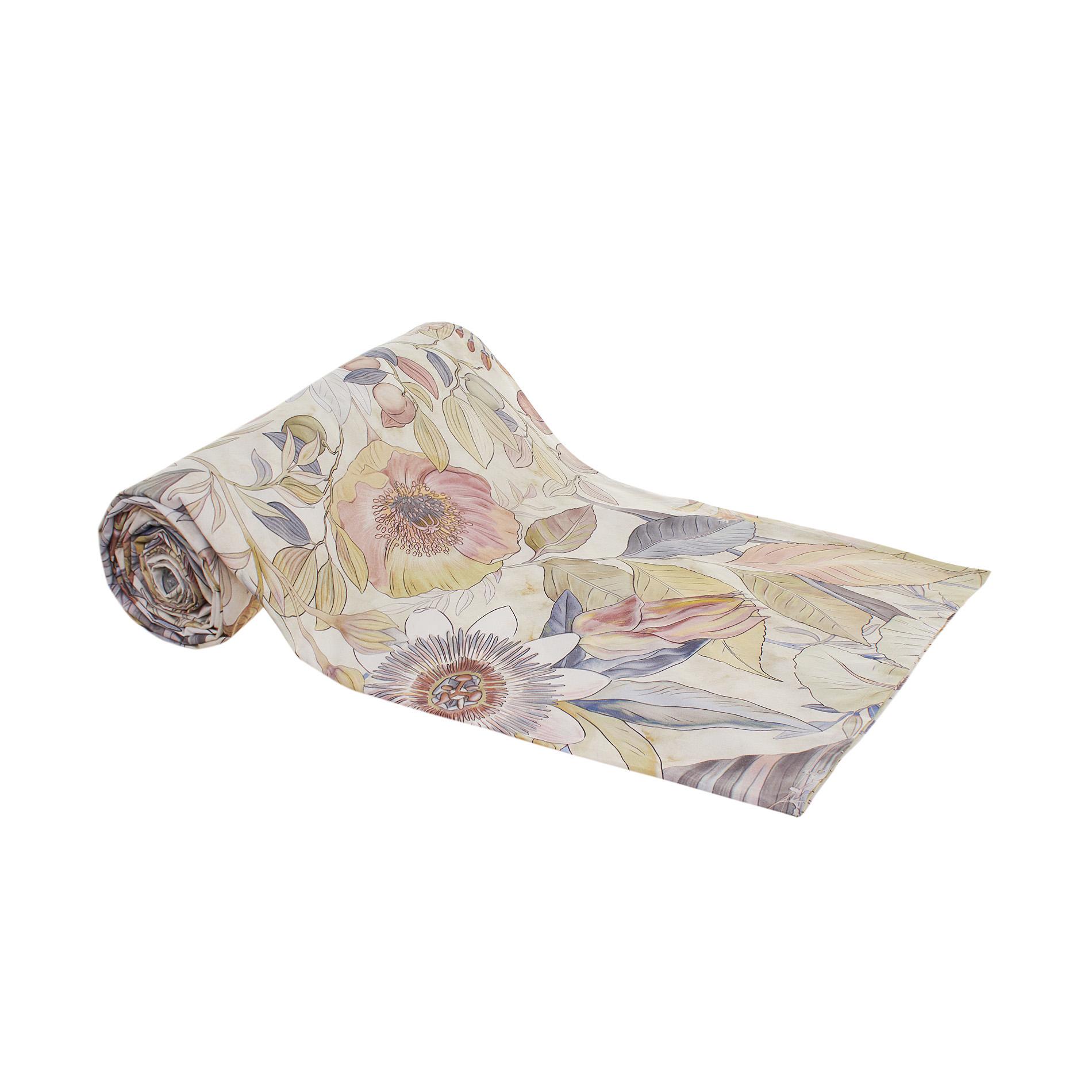 Telo arredo in cotone stampa fiori grandi coincasa - Saldi coin casa ...