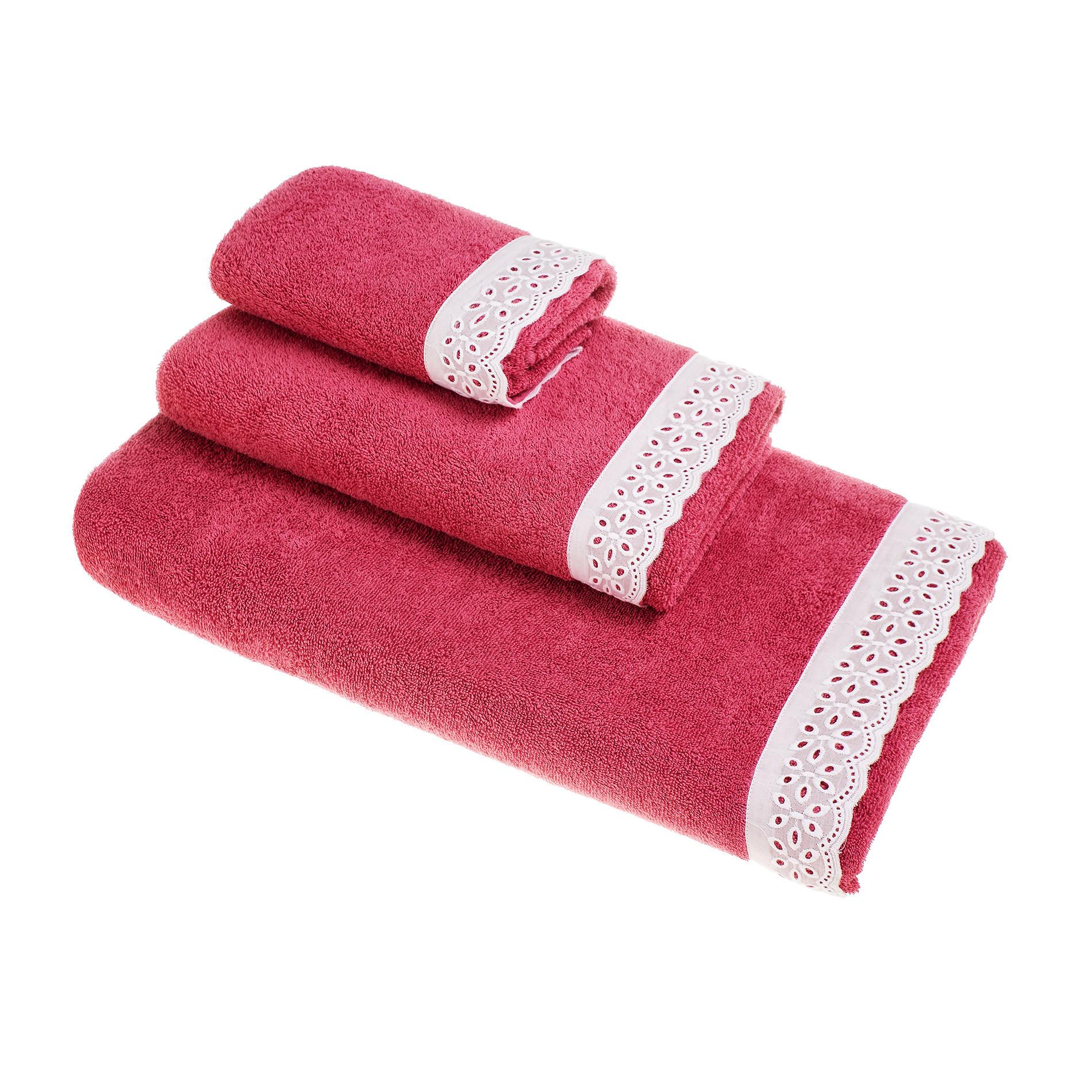 Asciugamano puro cotone pizzo sangallo coincasa - Saldi coin casa ...