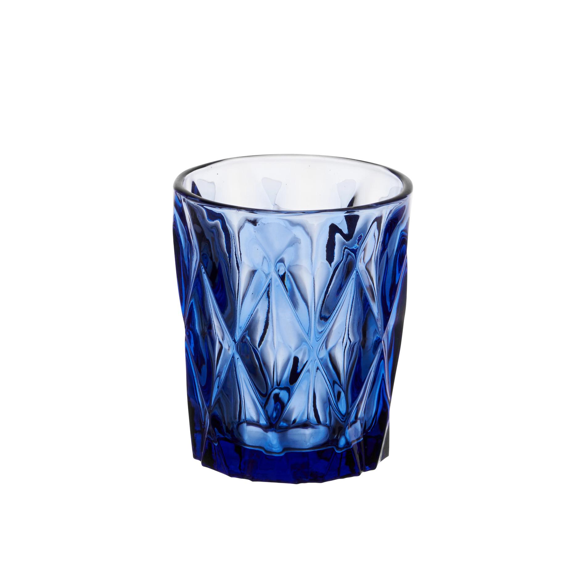 Bicchiere acqua in vetro colorato diamond coincasa - Coincasa bicchieri ...