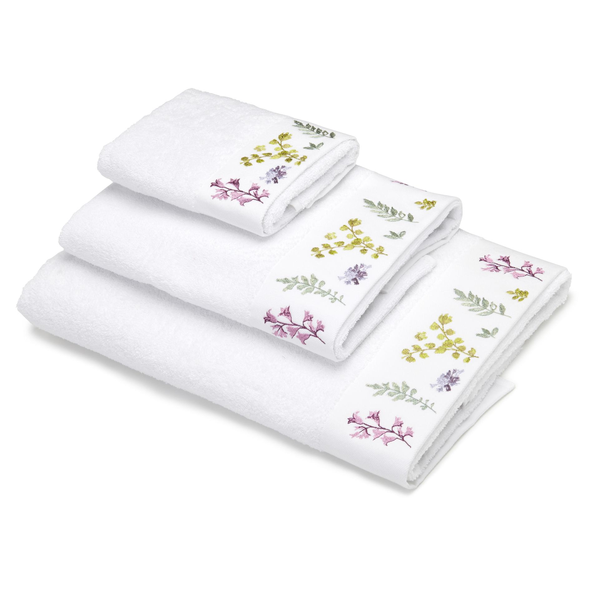 Asciugamano puro cotone riccio ricamato coincasa - Saldi coin casa ...