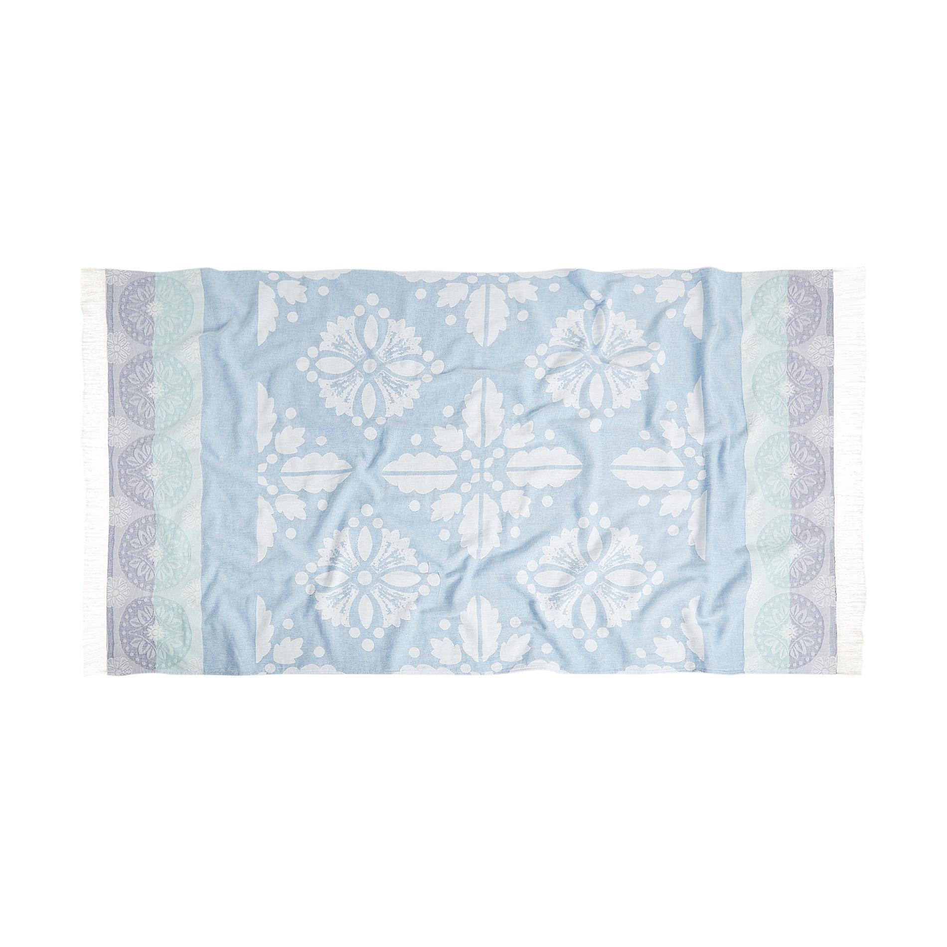 Hammam Style: 100% Cotton Hammam-style Majolica Beach Towel