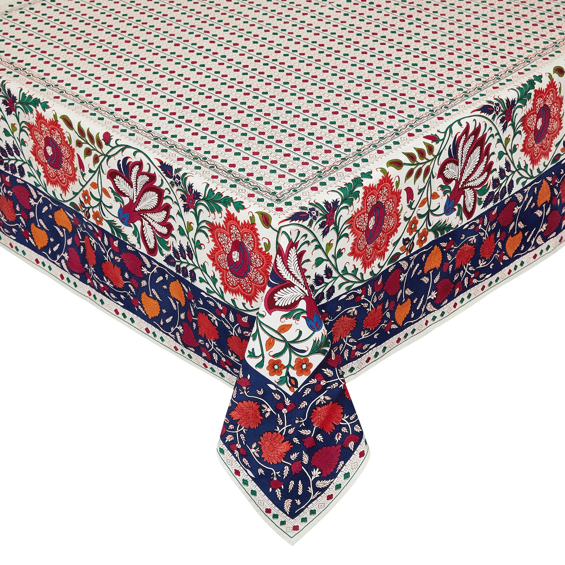Tovaglia puro cotone stampa piazzata floreale coincasa - Tende coin casa ...