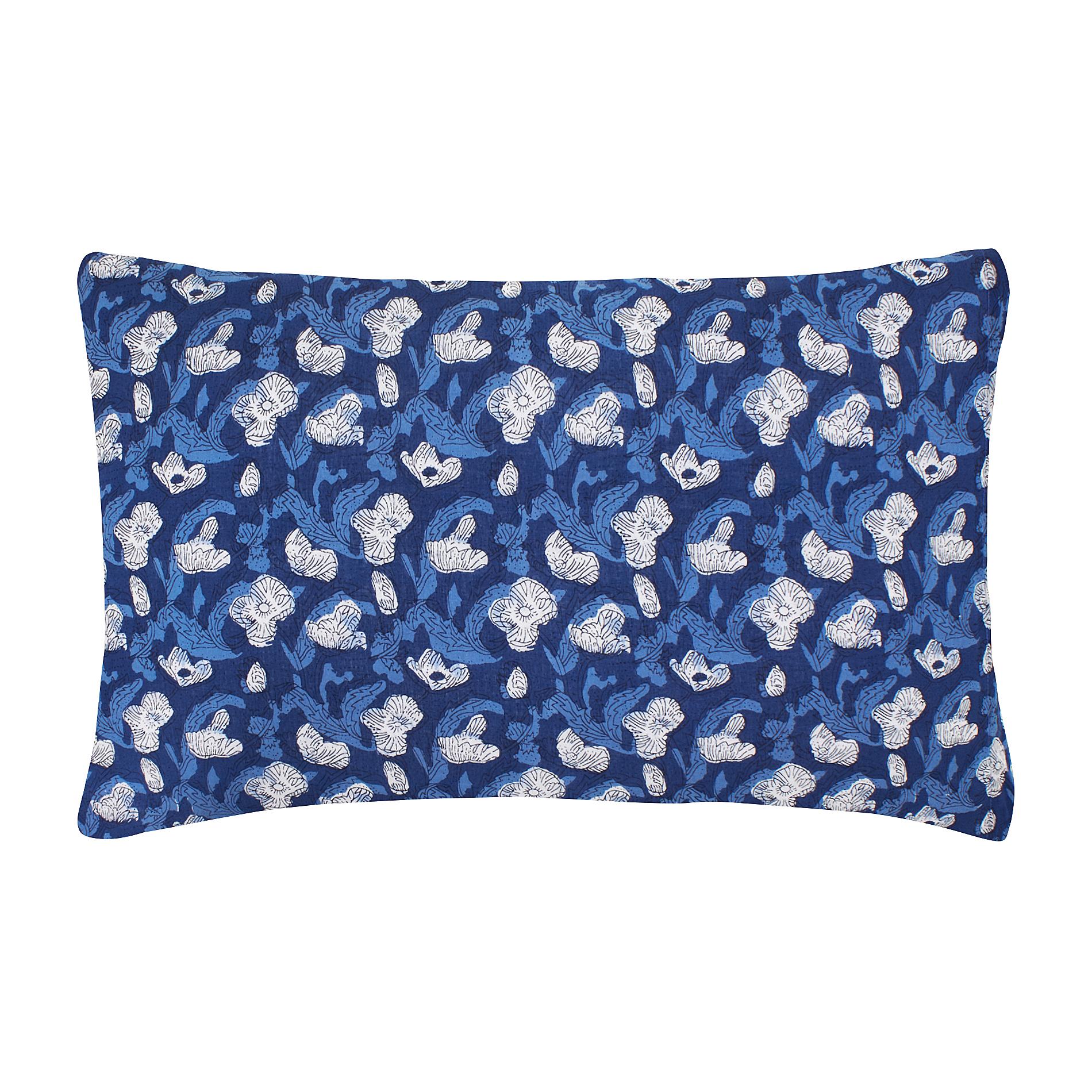 Federa voile di cotone fiori stilizzati coincasa - Tende coin casa ...
