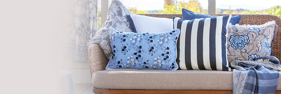 Cuscini arredo decorativi per divani coincasa 3 for Arredo giardino cuscini