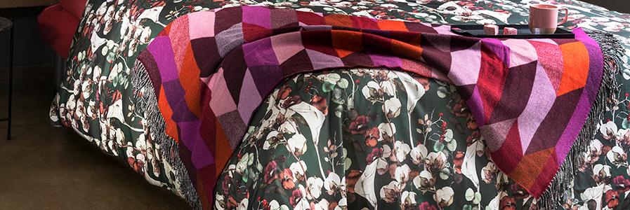 reputable site ccf70 a4d74 Plaid e coperte matrimoniali: coperte di cotone e pile ...